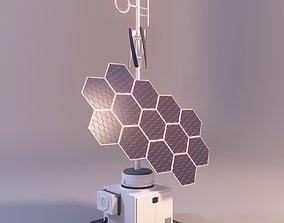 blender 3D model Solar panel