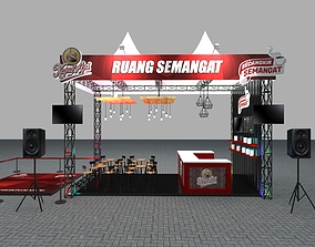 Booth 3x6 3D