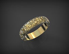 3D printable model Wedding Ring silver love