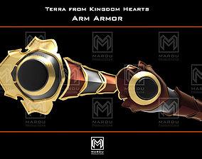 Terra arm Kingdom hearts 3D printing for