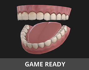 Low-poly Teeth 3D model