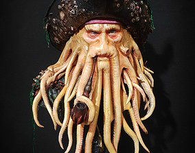 Davy Jones Bust - Pirates of the 3D printable model