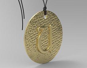 3D printable model Alphabet Latin U