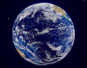 earth 3D model realtime