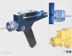 3D model Phaser Gun Star Trek