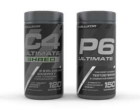 muscle Protein Powder 3D