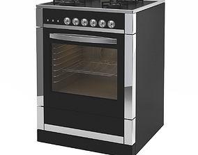 3D model Black Modern Cooker