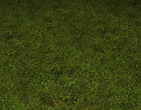 ground grass tile 18 3D model