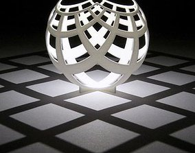 3D printable model Customizable sphere to pattern