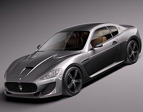 3D model Maserati GranTurismo MC Stradale 2014
