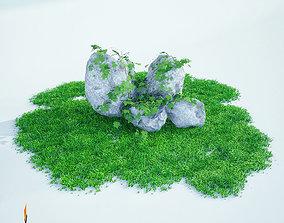 rock 3d model landscape