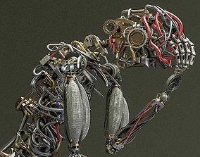 3D model Mecha Humanoid