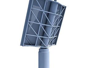 3D model Radar Surveillance