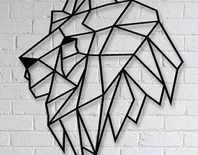 3D printable model Lion Logo