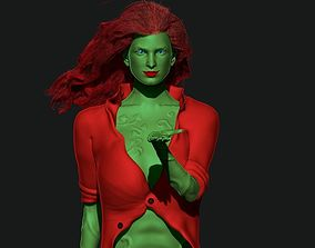 3D print model Poison Ivy Arkham City