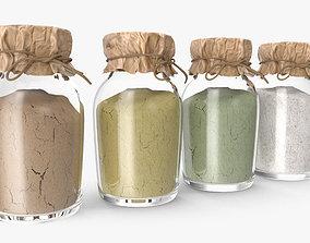 accessory Spice Bottles 3D model