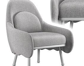 Corolla chair 272 3D model
