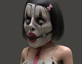 Ballgag Clown Mask 3D printable model