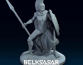 Spartan warrior 3D print model