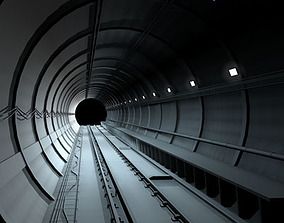3D model Tunnel subway