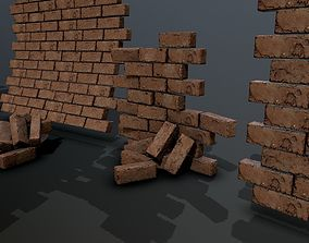3D asset Bricks pack