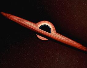 3D model black Black Hole