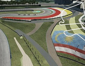 3D model Sepang International Circuit Malaysia
