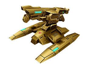 Spaceship - Big Fort 13 3D model