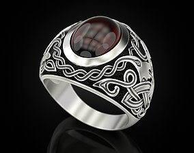Celtic Man Rings 3D print model other