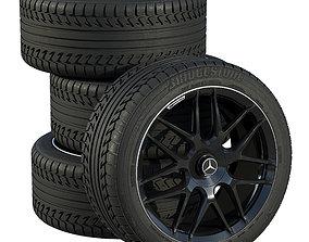 Mercedes wheels 3D