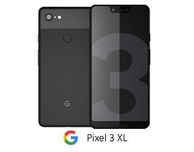 Google Pixel 3 XL Black google 3D