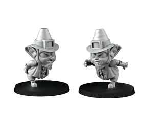 Runner Leprechauns 3D printable model