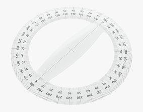3D Protractor circular