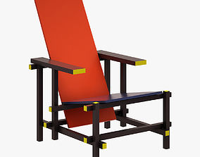 3D asset Chair 034