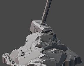 iron-man Mjolnir 3D print model