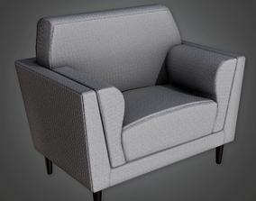 3D asset ARV2 - Modern Chair 12 - PBR Game Ready