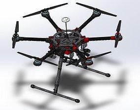 DJI S900 DRONE 3D print model
