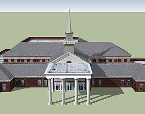 3D model Baptist Church