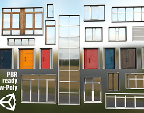 3D model Doors and Windows Collection