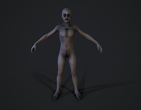 Child corpse experiment 3D model