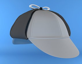 3D printable model Sherlock hat