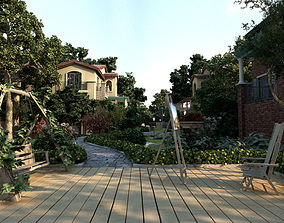 architectural Villa 3d model