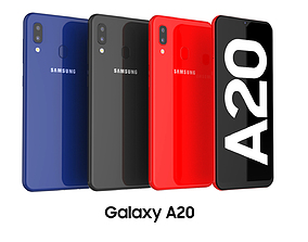 Samsung Galaxy A20 Collection 3D