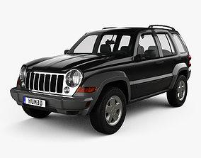 Jeep Liberty KJ Limited 2005 3D
