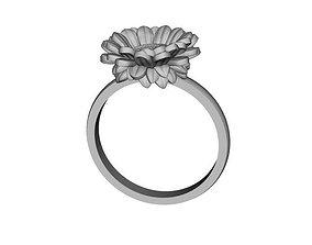 Ring Sun Flower 3D printable model