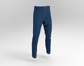 realtime Blue jeans model