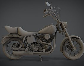 3D printable model Harley-Davidson Motorcycle
