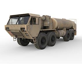 3D model war Military truck