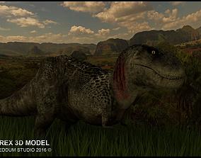 3D model dino T-Rex