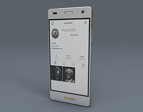 Huawei P8 lite 3D asset
